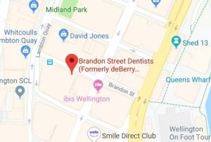 Brandon Street Dentists Map